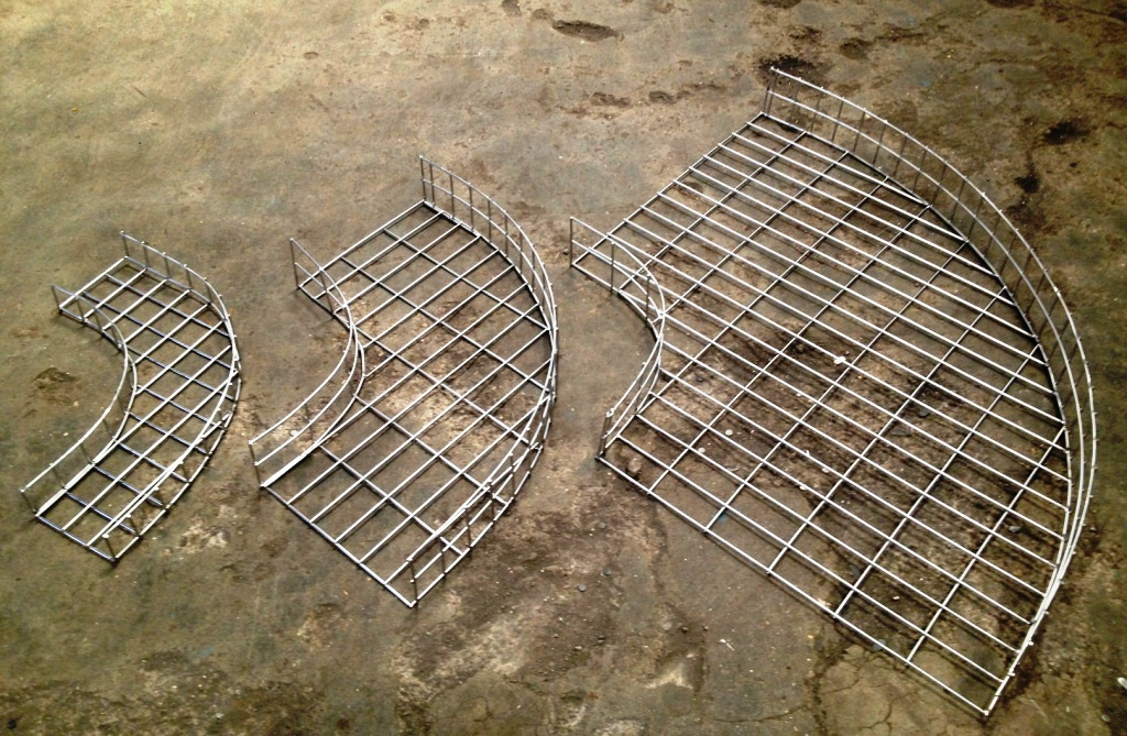 Products wire mesh cable tray
